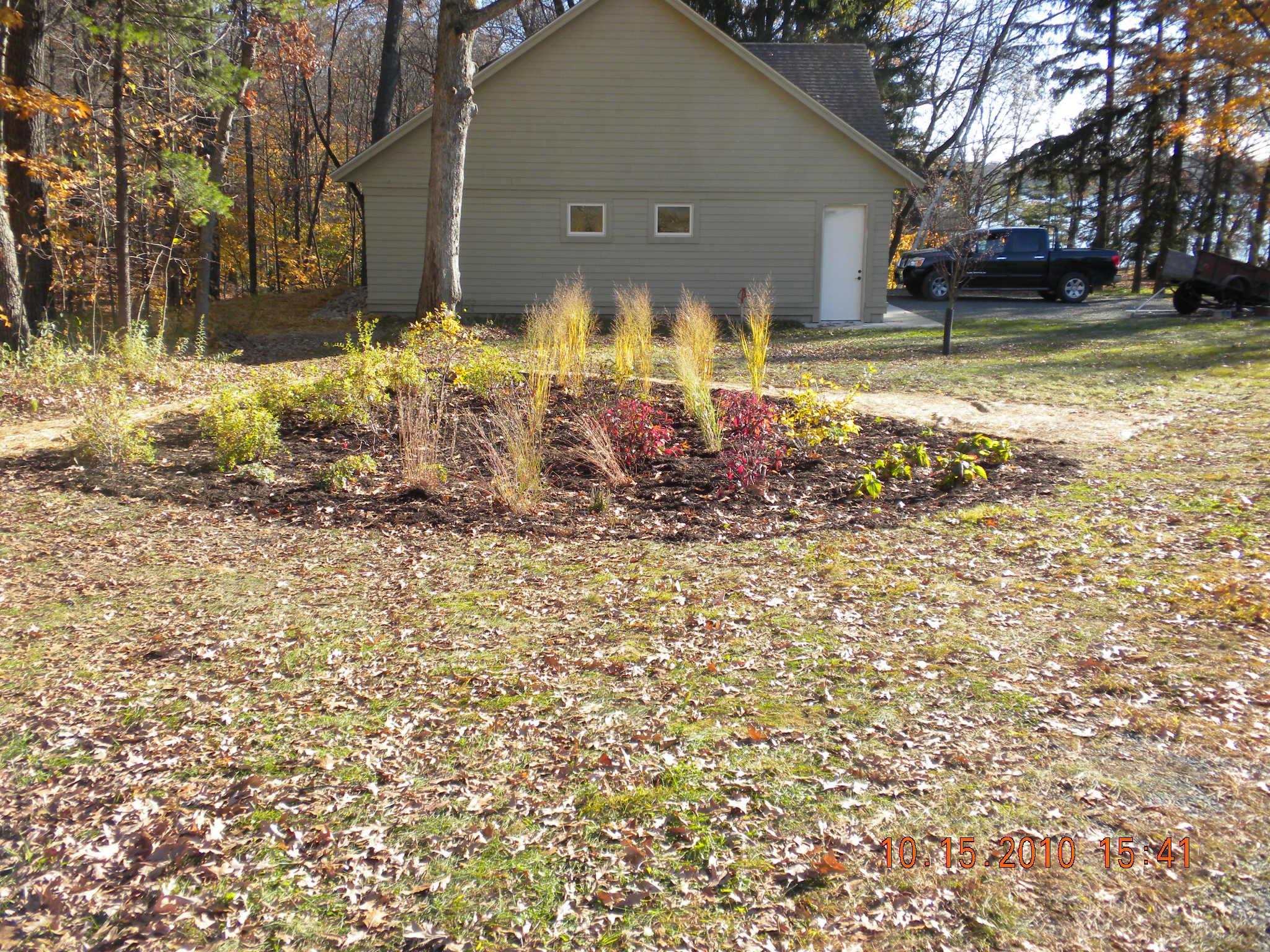 Deer Lake Homeowner Rain Garden